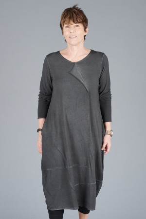 LK200115 - Luukaa Jasmine Long Sleeve Dress @ Walkers.Style buy women's clothes online or at our Norwich shop.