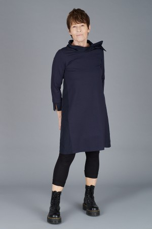 LA200117 - Latte Tunic Dress @ Walkers.Style women's and ladies fashion clothing online shop