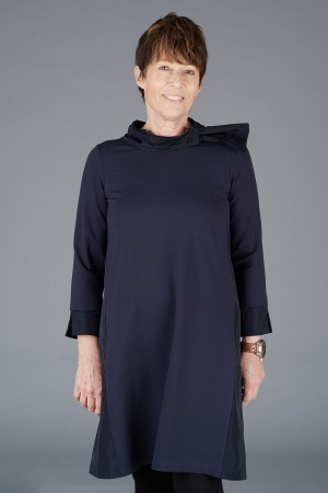 LA200117 - Latte Tunic Dress @ Walkers.Style buy women's clothes online or at our Norwich shop.