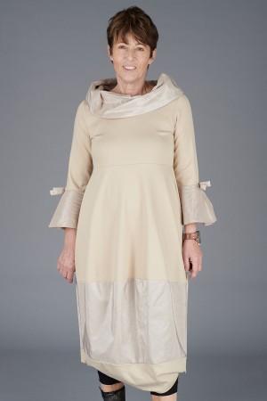LA200118 - Latte Dress @ Walkers.Style buy women's clothes online or at our Norwich shop.