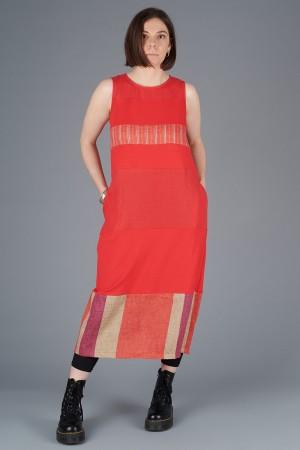 LA200122 - Latte Sleeveless Dress @ Walkers.Style women's and ladies fashion clothing online shop