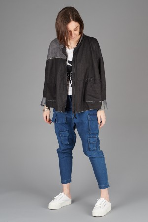 rh200224 - Rundholz Black Label Jacket @ Walkers.Style women's and ladies fashion clothing online shop
