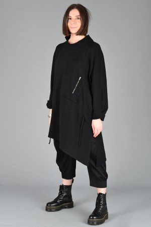 lb200271 - Lurdes Bergada Oversized Pullover @ Walkers.Style women's and ladies fashion clothing online shop