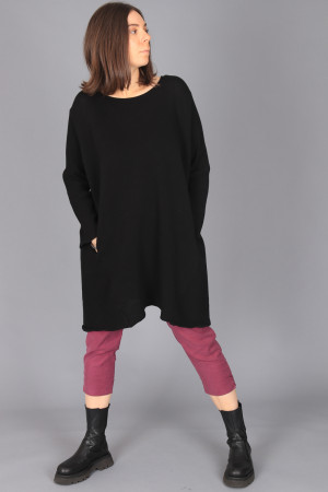 kk200274 - Knit Knit Ribbed Tunic @ Walkers.Style buy women's clothes online or at our Norwich shop.