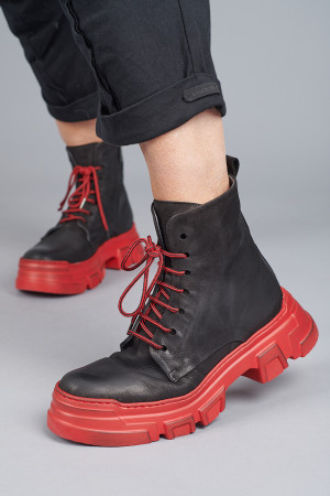 lf205002 - Lofina Red Sole Boot @ Walkers.Style buy women's clothes online or at our Norwich shop.