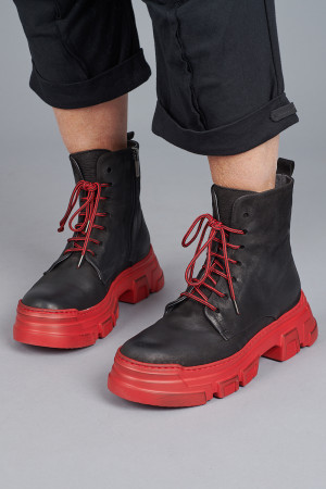 lf205002 - Lofina Red Sole Boot @ Walkers.Style women's and ladies fashion clothing online shop