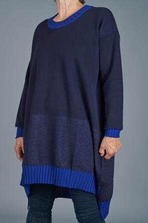 kk205014 - Knit Knit Tunic @ Walkers.Style women's and ladies fashion clothing online shop