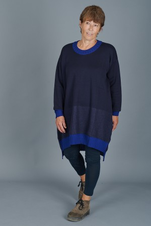 kk205014 - Knit Knit Tunic @ Walkers.Style buy women's clothes online or at our Norwich shop.