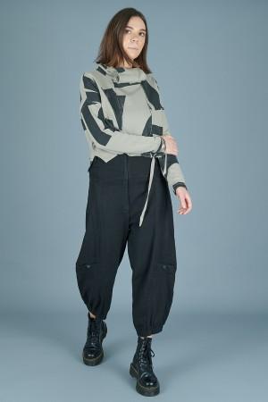 lb205088 - Lurdes Bergada Low Crotch Pants @ Walkers.Style buy women's clothes online or at our Norwich shop.