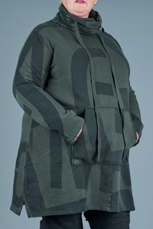 lb205097 - Lurdes Bergada Printed Sweatshirt @ Walkers.Style women's and ladies fashion clothing online shop