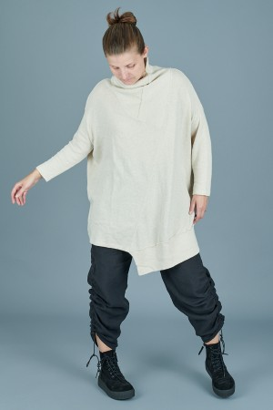lb205102 - Lurdes Bergada Oversized Sweater @ Walkers.Style buy women's clothes online or at our Norwich shop.