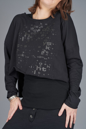 sb205106 - StudioB3 Feera Top @ Walkers.Style women's and ladies fashion clothing online shop