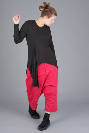 po205117 - Pxxx OFF Fold Top @ Walkers.Style buy women's clothes online or at our Norwich shop.