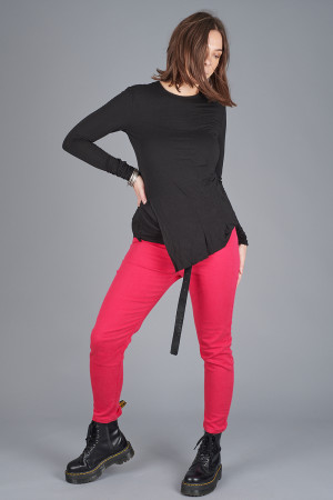 po205118 - Pxxx OFF Asymmetric Top @ Walkers.Style buy women's clothes online or at our Norwich shop.