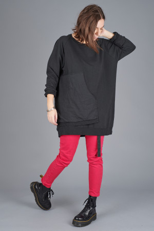 po205120 - Pxxx OFF Asymmetric Tunic @ Walkers.Style buy women's clothes online or at our Norwich shop.