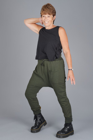 po205122 - Pxxx OFF Relaxed Trousers @ Walkers.Style buy women's clothes online or at our Norwich shop.