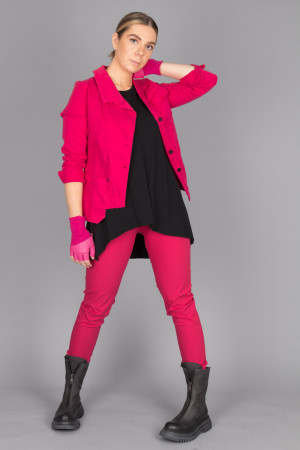 po205123 - Pxxx OFF Denim Revers Jacket @ Walkers.Style buy women's clothes online or at our Norwich shop.