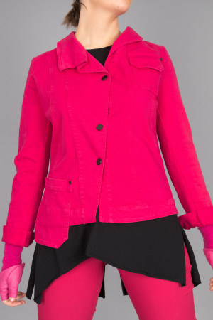 po205123 - Pxxx OFF Denim Revers Jacket @ Walkers.Style women's and ladies fashion clothing online shop