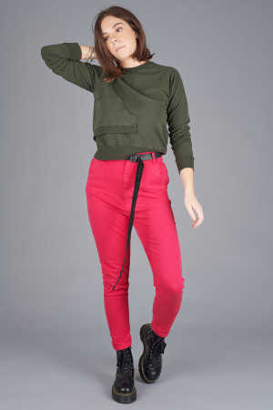 po205124 - Pxxx OFF Denim Trouser @ Walkers.Style buy women's clothes online or at our Norwich shop.