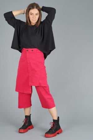 po205125 - Pxxx OFF Denim Wrap Trousers @ Walkers.Style buy women's clothes online or at our Norwich shop.