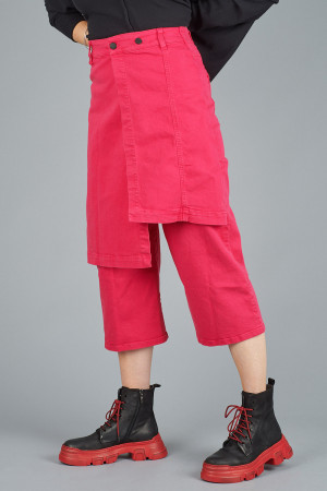 po205125 - Pxxx OFF Denim Wrap Trousers @ Walkers.Style women's and ladies fashion clothing online shop