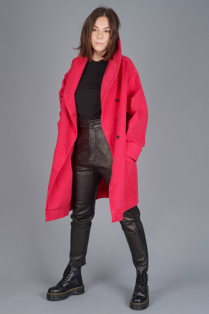 po205126 - Pxxx OFF Denim Oversize Coat @ Walkers.Style buy women's clothes online or at our Norwich shop.