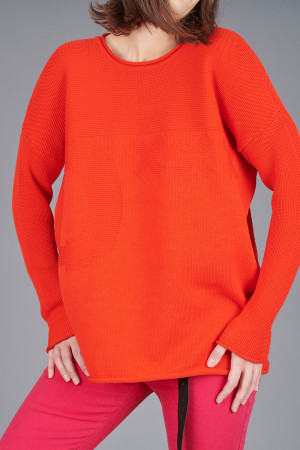 po205128 - Pxxx OFF Merino Pullover @ Walkers.Style women's and ladies fashion clothing online shop