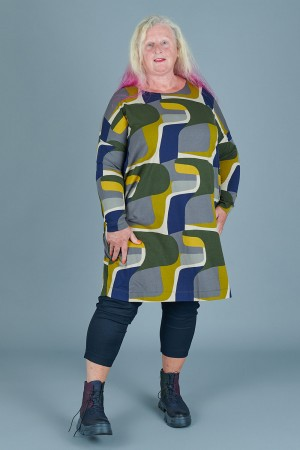 td205142 - Two Danes Printed Botelle Tunic @ Walkers.Style buy women's clothes online or at our Norwich shop.
