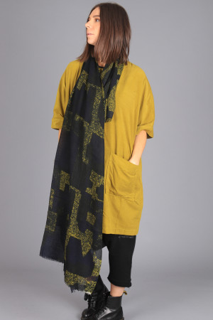 td205155 - Two Danes Landscape Scarf @ Walkers.Style women's and ladies fashion clothing online shop