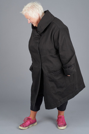 po205202 - Pal Offner Denim Oversized Coat @ Walkers.Style buy women's clothes online or at our Norwich shop.