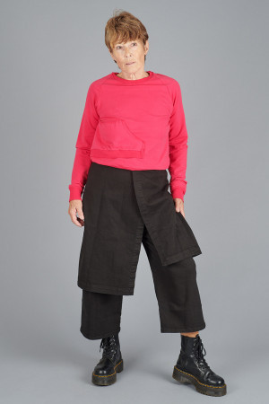 po205204 - Pal Offner Denim Wrap Trousers @ Walkers.Style buy women's clothes online or at our Norwich shop.