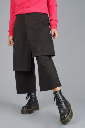 po205204 - Pal Offner Denim Wrap Trousers @ Walkers.Style women's and ladies fashion clothing online shop