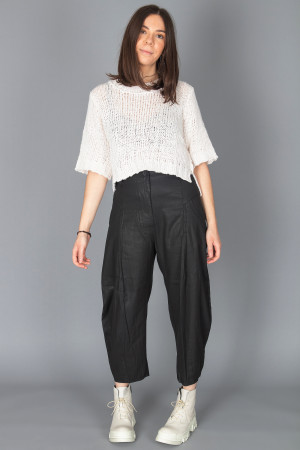 lb210012 - Lurdes Bergada Cropped Trousers @ Walkers.Style buy women's clothes online or at our Norwich shop.