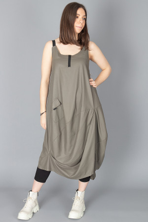 lb210015 - Lurdes Bergada Coated Dress @ Walkers.Style buy women's clothes online or at our Norwich shop.