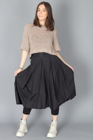 lb210017 - Lurdes Bergada Balloon Skirt @ Walkers.Style buy women's clothes online or at our Norwich shop.