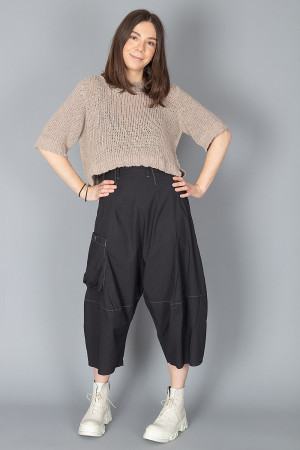 lb210018 - Lurdes Bergada Low Crotched Trousers @ Walkers.Style buy women's clothes online or at our Norwich shop.