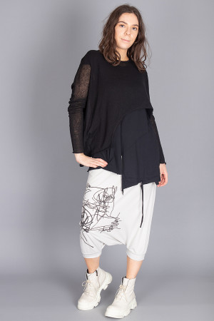 sb210035 - StudioB3 Margo Trousers @ Walkers.Style buy women's clothes online or at our Norwich shop.