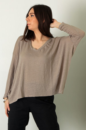 cl210199 - Cut Loose V-Neck Pullover @ Walkers.Style women's and ladies fashion clothing online shop