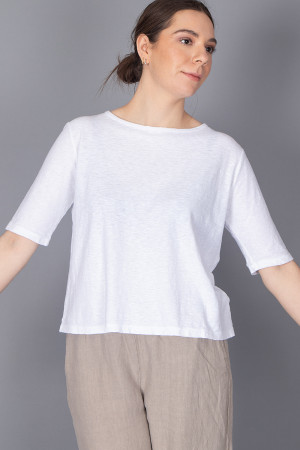cl210203 - Cut Loose Cotton Top @ Walkers.Style women's and ladies fashion clothing online shop