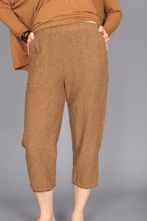 cl210210 - Cut Loose Crop Trouser @ Walkers.Style women's and ladies fashion clothing online shop