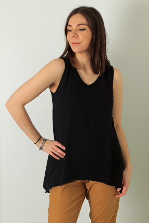 cl210211 - Cut Loose A line Sleeveless Top @ Walkers.Style women's and ladies fashion clothing online shop