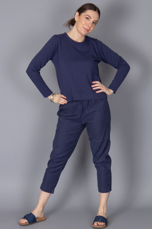 cl210212 - Cut Loose Cropped Trouser @ Walkers.Style buy women's clothes online or at our Norwich shop.