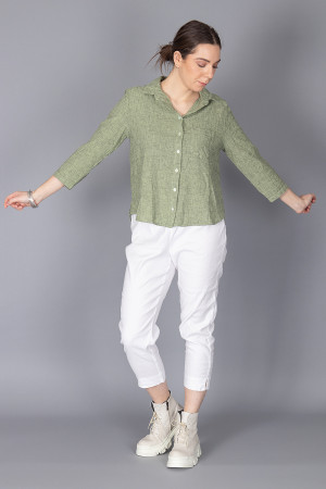 cl210215 - Cut Loose Pocket Shirt @ Walkers.Style buy women's clothes online or at our Norwich shop.