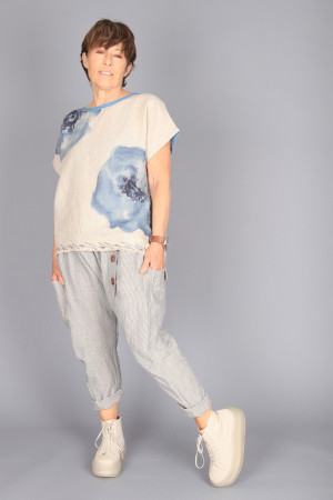 mg210231 - Mara Gibbucci Printed Top @ Walkers.Style buy women's clothes online or at our Norwich shop.
