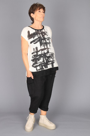 mg210232 - Mara Gibbucci Printed Top @ Walkers.Style buy women's clothes online or at our Norwich shop.