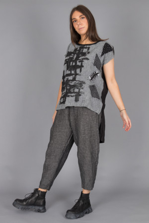 mg210233 - Mara Gibbucci Printed Tunic @ Walkers.Style buy women's clothes online or at our Norwich shop.