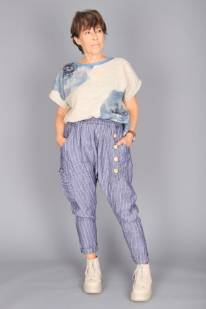 mg210239 - Mara Gibbucci Harem trousers @ Walkers.Style buy women's clothes online or at our Norwich shop.