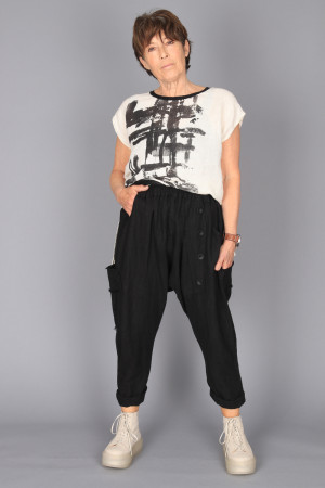 mg210240 - Mara Gibbucci Harem Trousers @ Walkers.Style buy women's clothes online or at our Norwich shop.