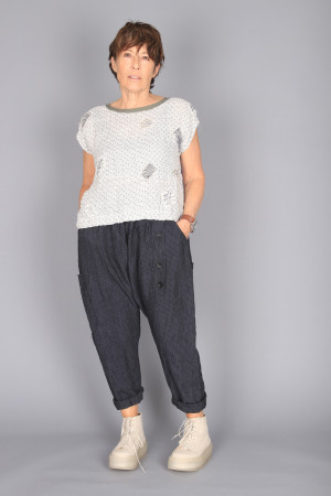 mg210241 - Mara Gibbucci Harem Trousers @ Walkers.Style buy women's clothes online or at our Norwich shop.