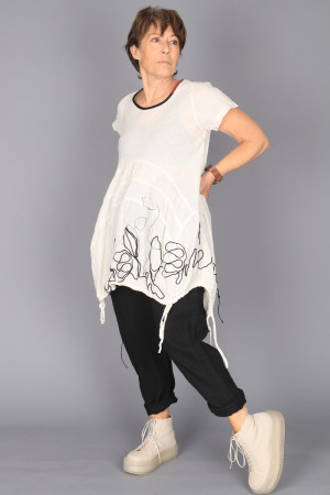 mg210242 - Mara Gibbucci Linen Tunic @ Walkers.Style buy women's clothes online or at our Norwich shop.